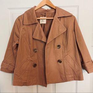 Cropped Brown jacket